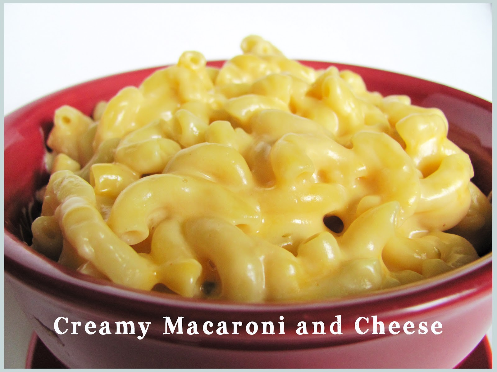 Feeding My Giant: Creamy Macaroni and Cheese