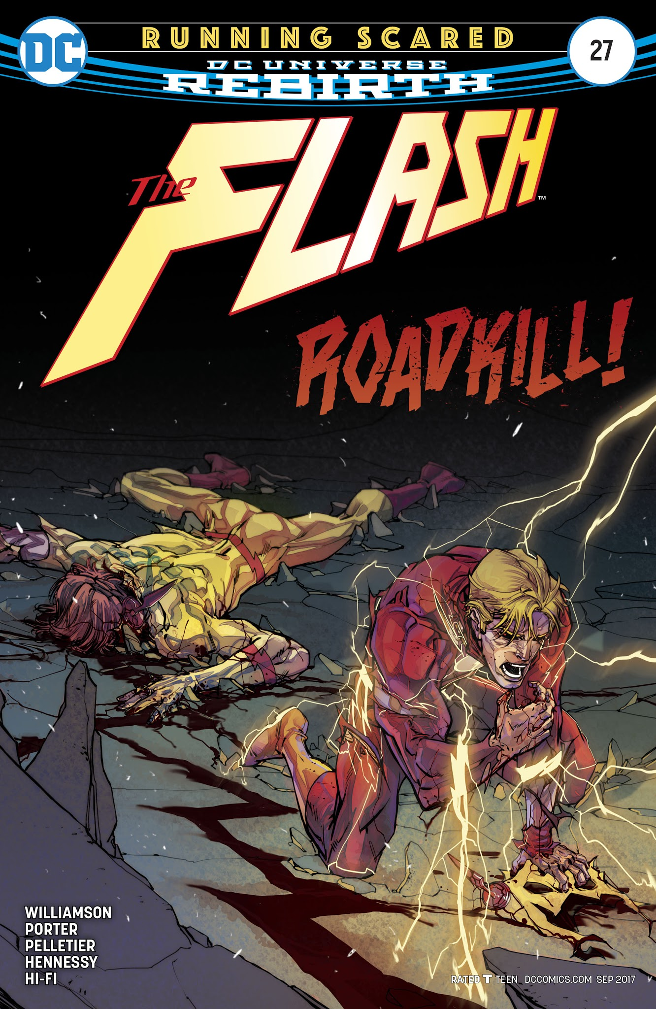 The Flash (2016) issue 27 - Page 1
