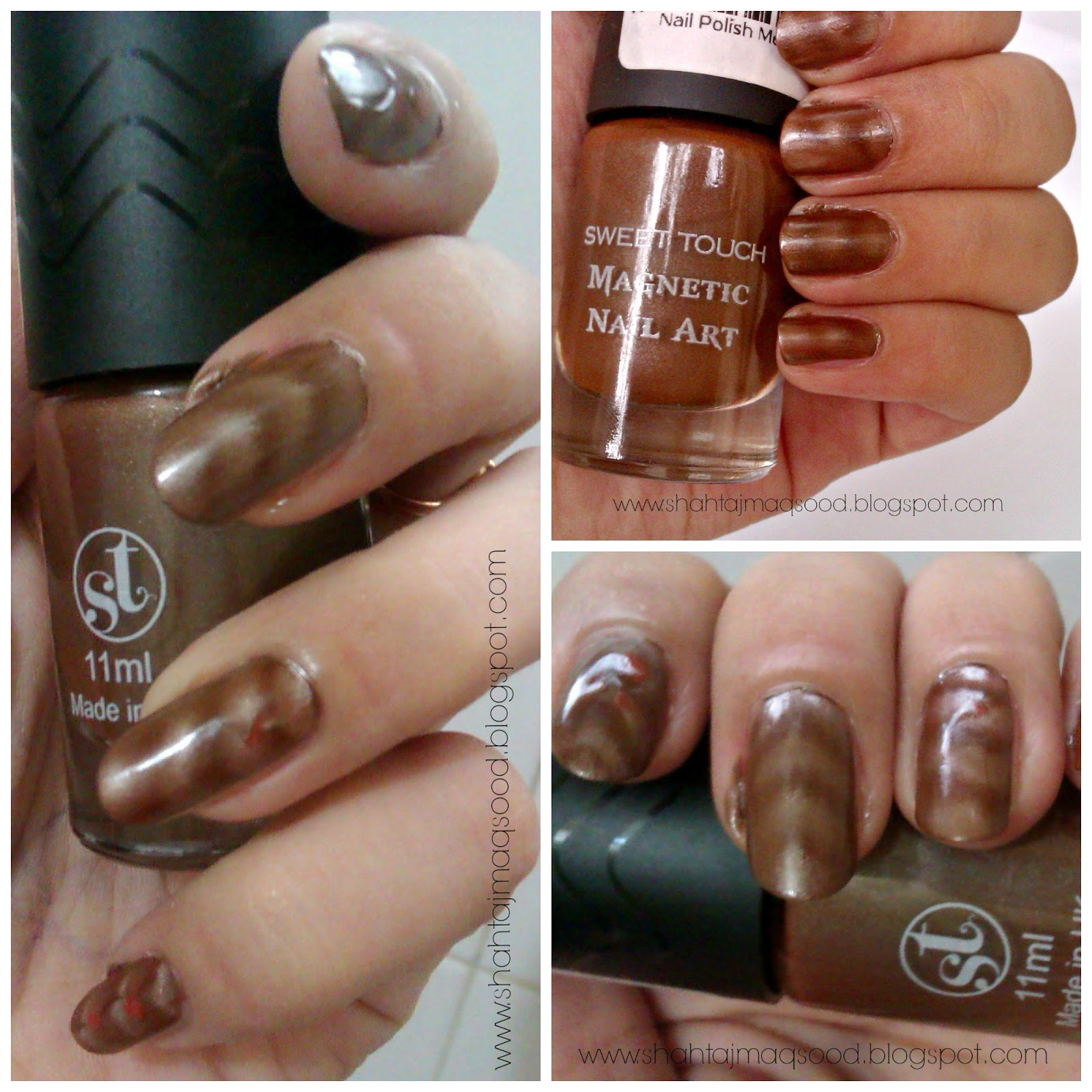 My Random Ramblings: Sweet Touch (Magnetic) Nail polish in \
