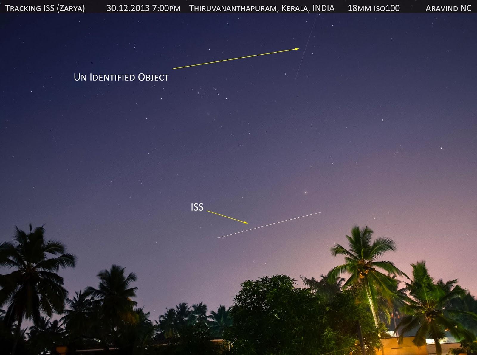 Aravind is Online: Sky tracking International Space ...
