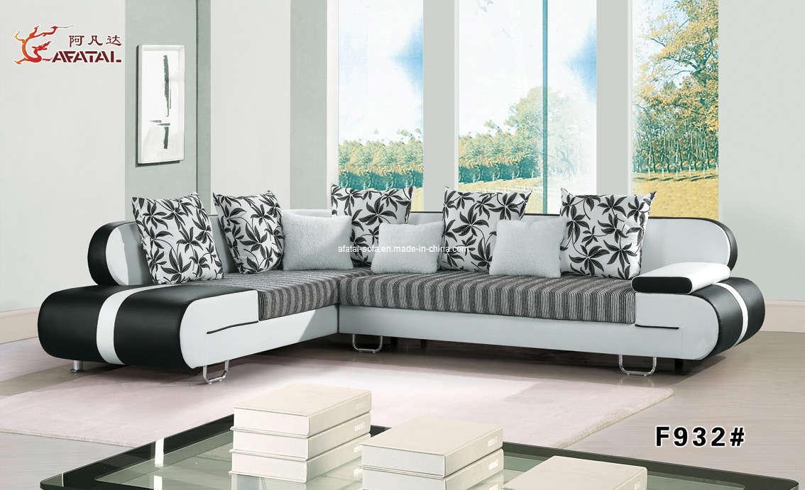 Home decor 15 modern living room black and white for Room design mahim