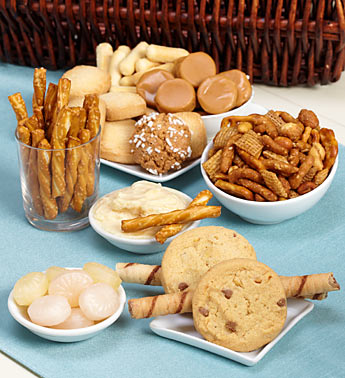 gift basket foods