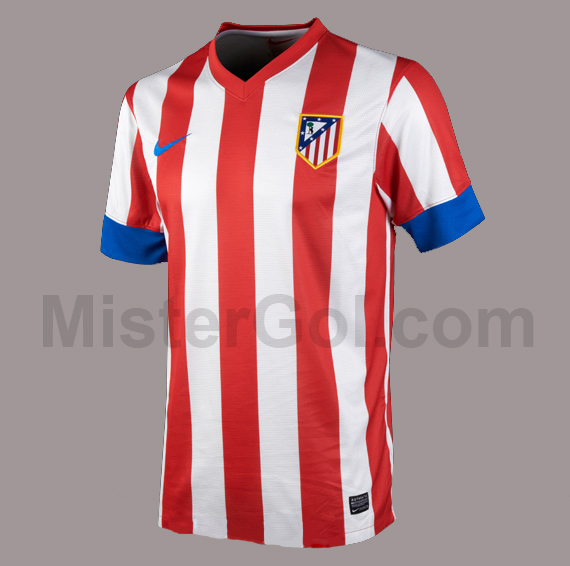 Atletico De Madrid 2012 2013 Local Nike Home Kit 2012 2013 Atleti
