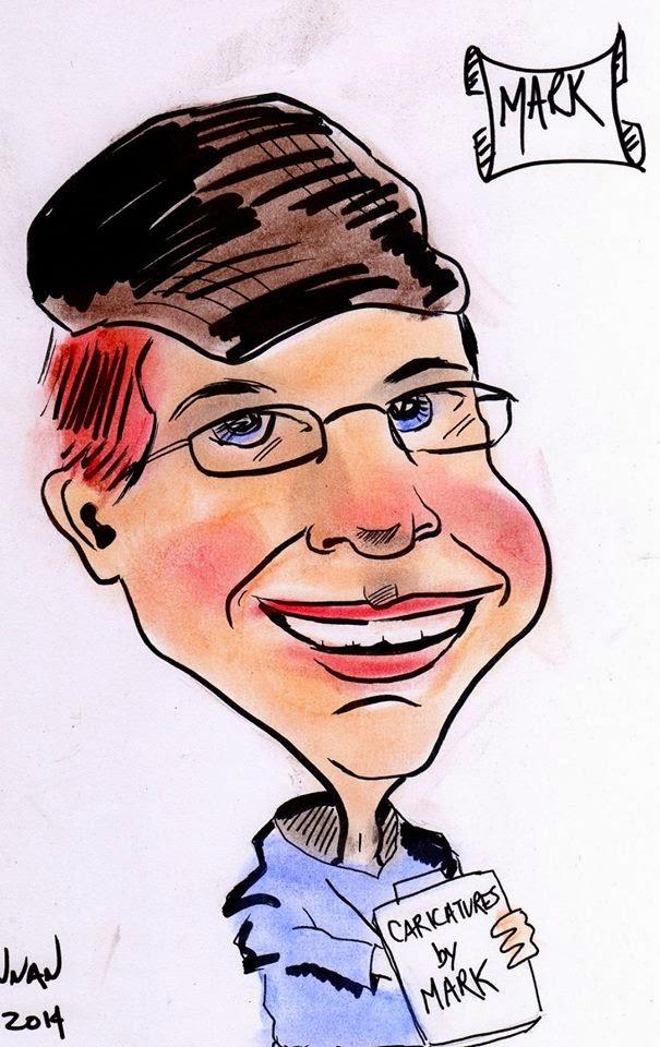 Mark Brennan - caricaturist