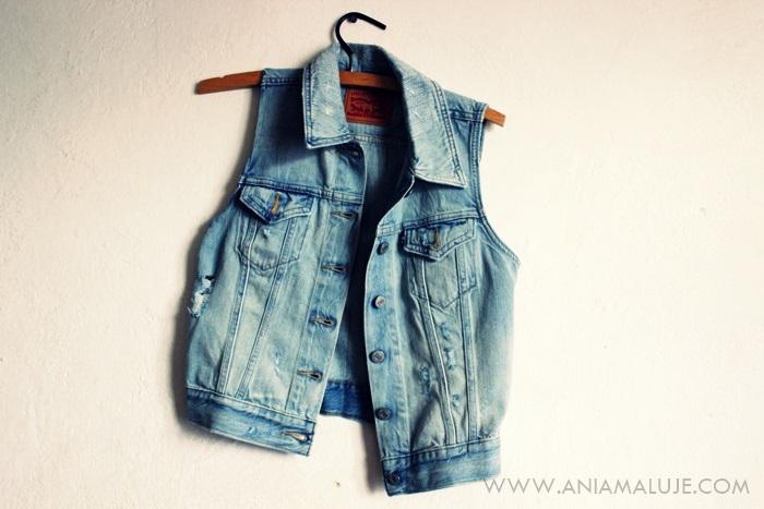 kamizelka jeansowa jeans Levis, Levis jeans vest