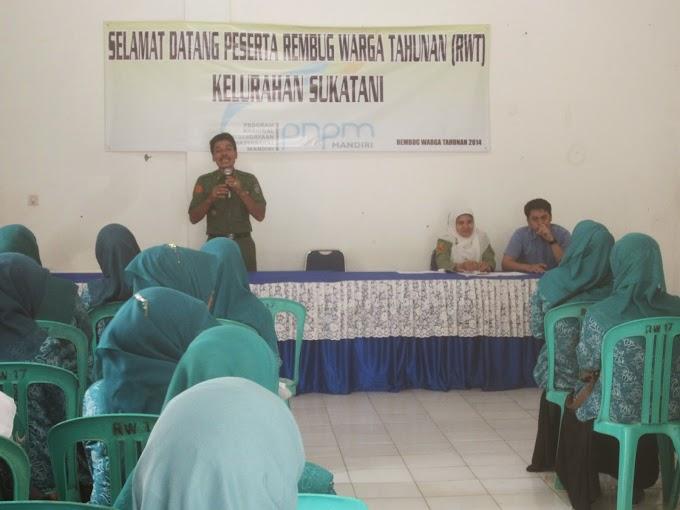 Posyandu Sukatani Wakili Jawa Barat