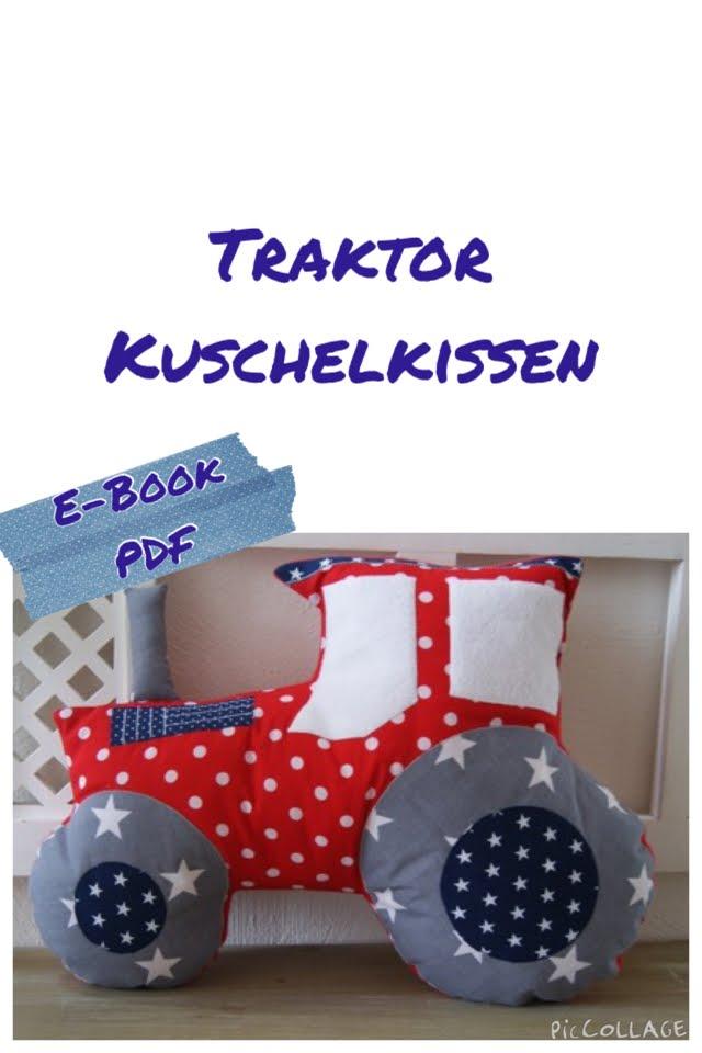 Traktor Kuschelkissen E-Book