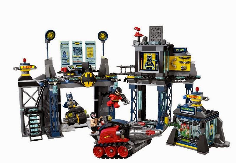 Toys juguetes lego super heroes 6860 la batcueva the batcave