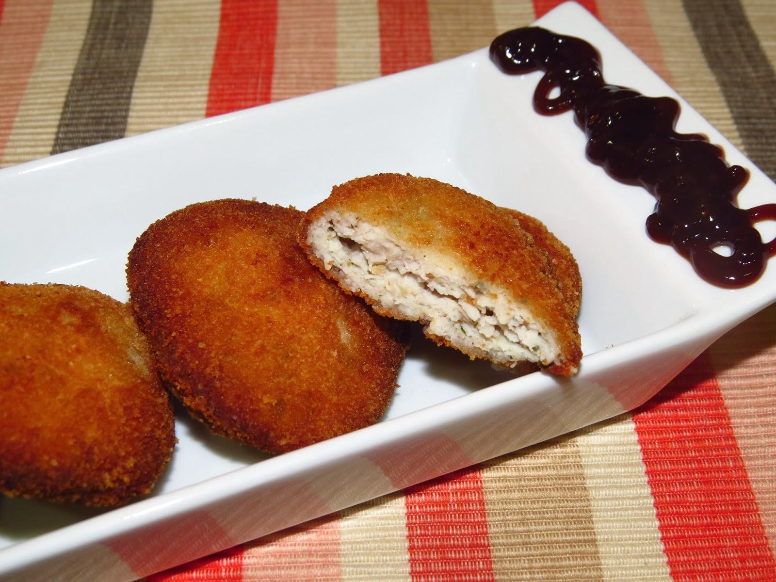 Nuggets especiados de pollo