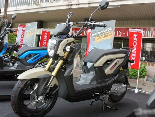 Honda ra mắt Zoomer X mới