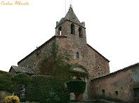 L'església i campanar de Santa Maria de Vilanova. Autor: Carlos Albacete