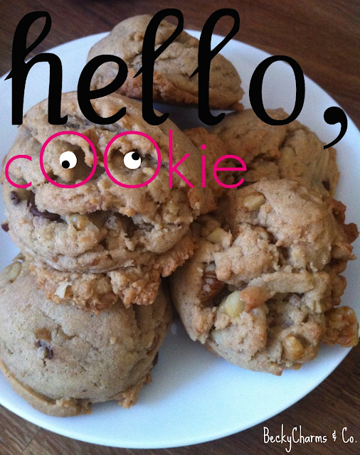Chewy Chocolate Chip Cookies dessert treats potluck san diego beckycharms