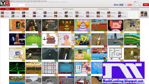 situs game online terbaru Y8