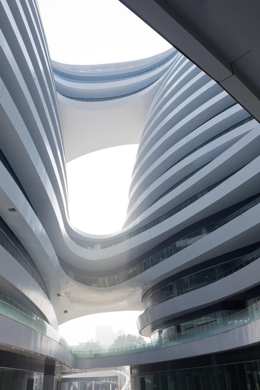 the style examiner zaha hadid s galaxy soho building is