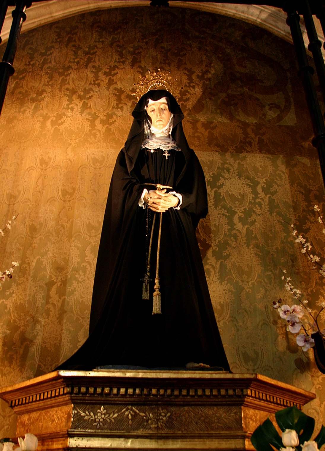 Jesusario: Virgen de la Soledad