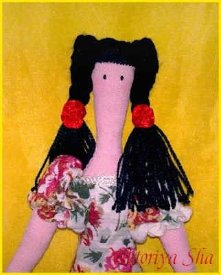 текстильная кукла Инга
