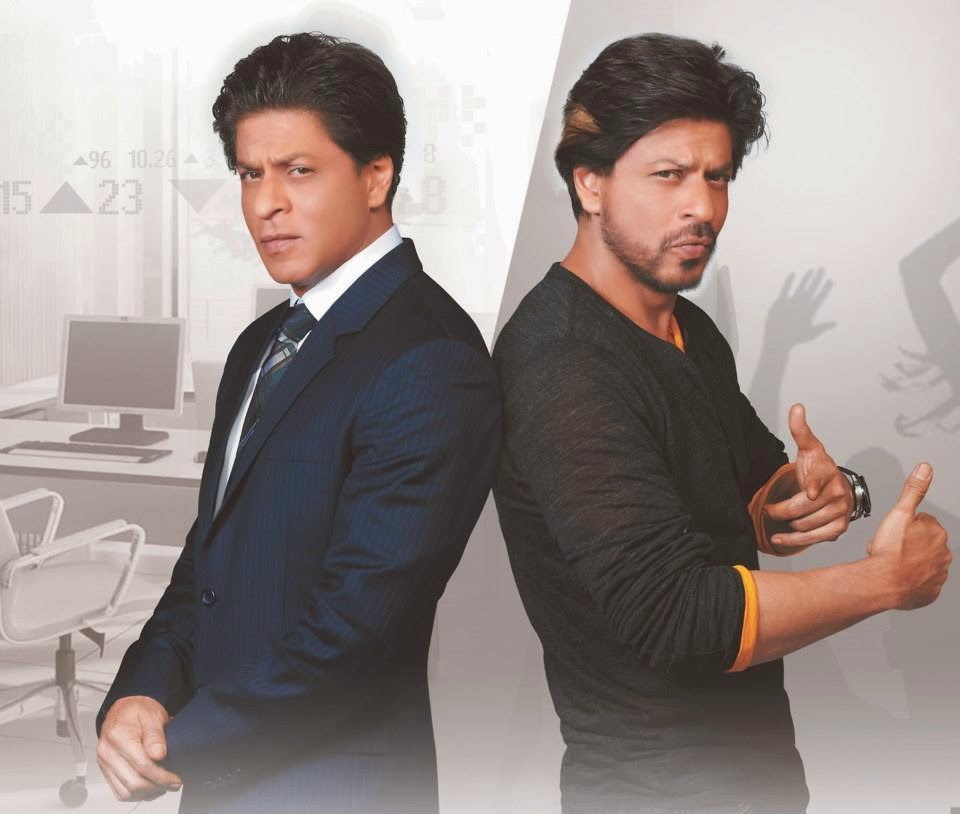 Shahrukh Khan on NDTV prime channel ad 2014