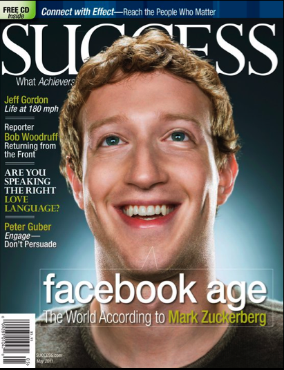 ... Facebook founder Mark Zuckerberg, shot by photographer Jill Greenberg.