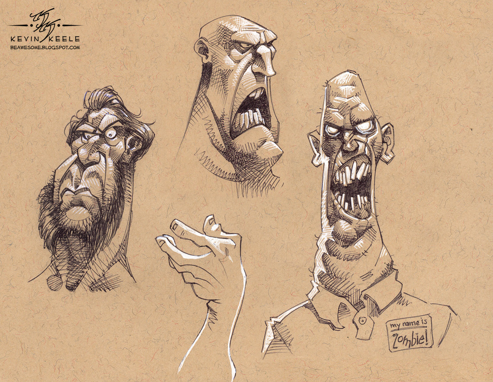 Character Design Book Artist : Be awesome may sketchbook