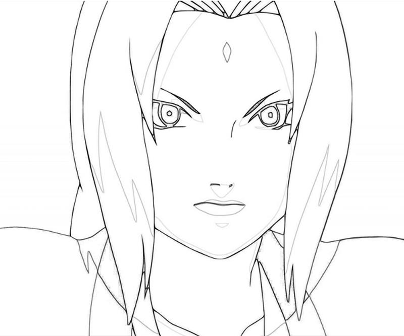naruto-tsunade-face-coloring-pages