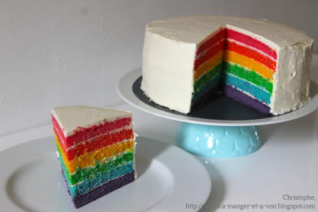 Recette Molly Cake Rainbow