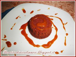 mini capresi al cioccolato e salsa mou