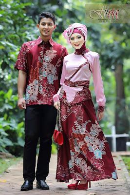 batik muslim couple