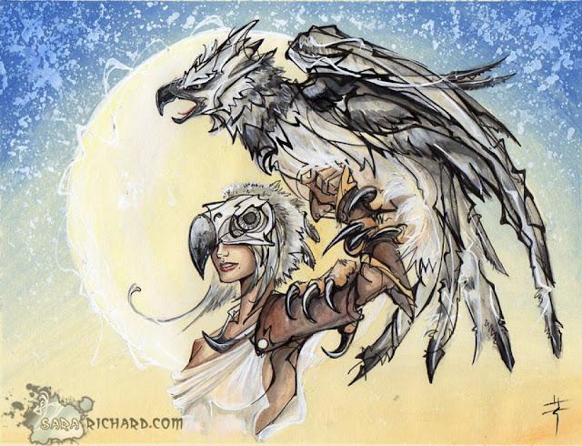 Muse -Harpy Eagle- por SaraRichard