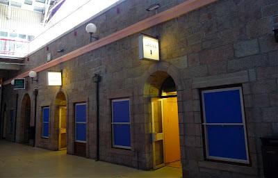 Public toilets Fort Regent St Helier Jersey