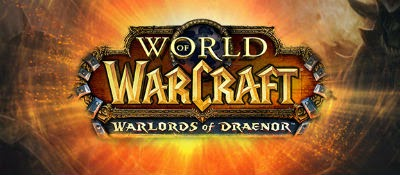 World of Warcraft Warldords of Draenor Logo Wallpaper