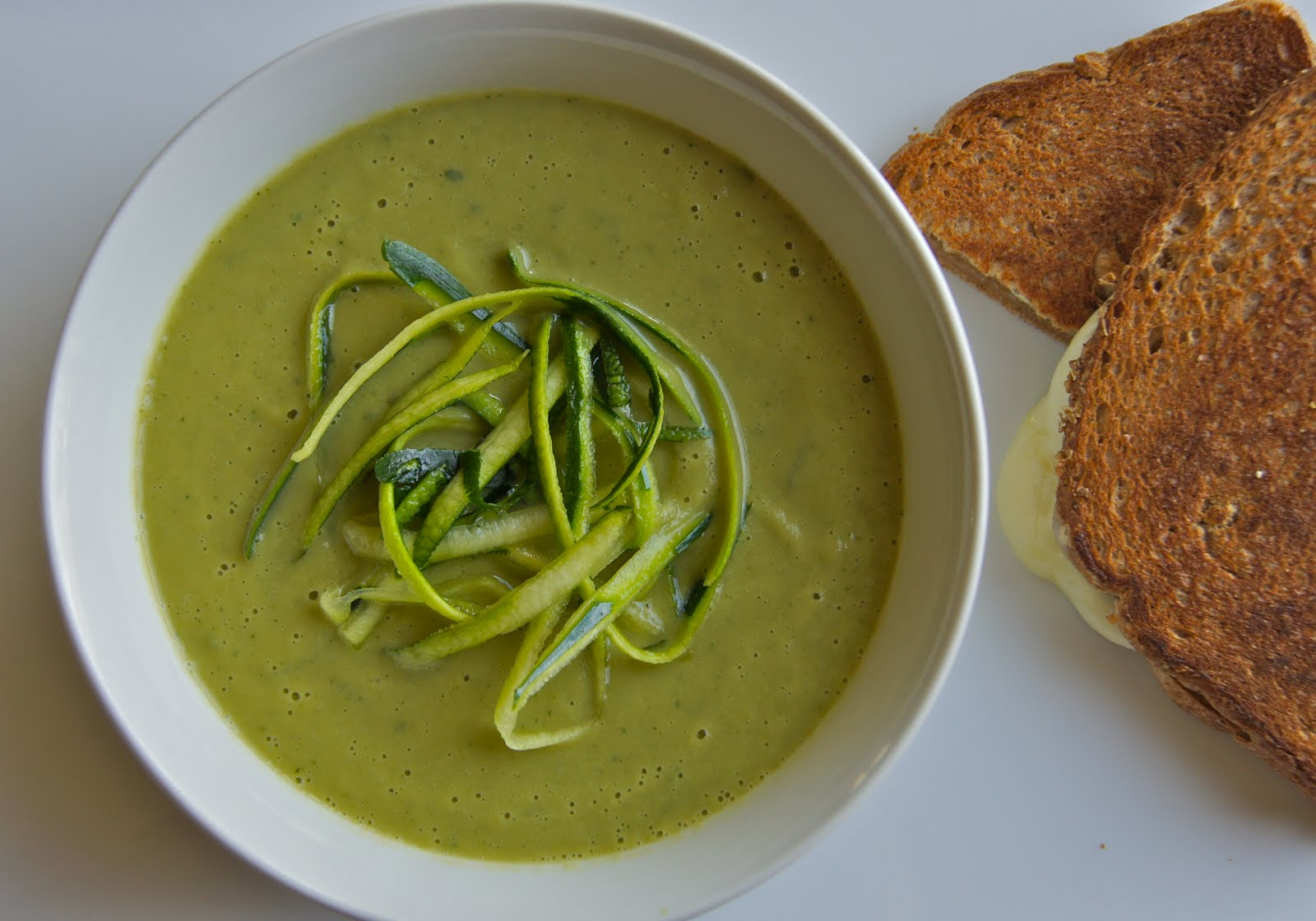 Healthy and Gourmet: Zucchini-Basil Soup