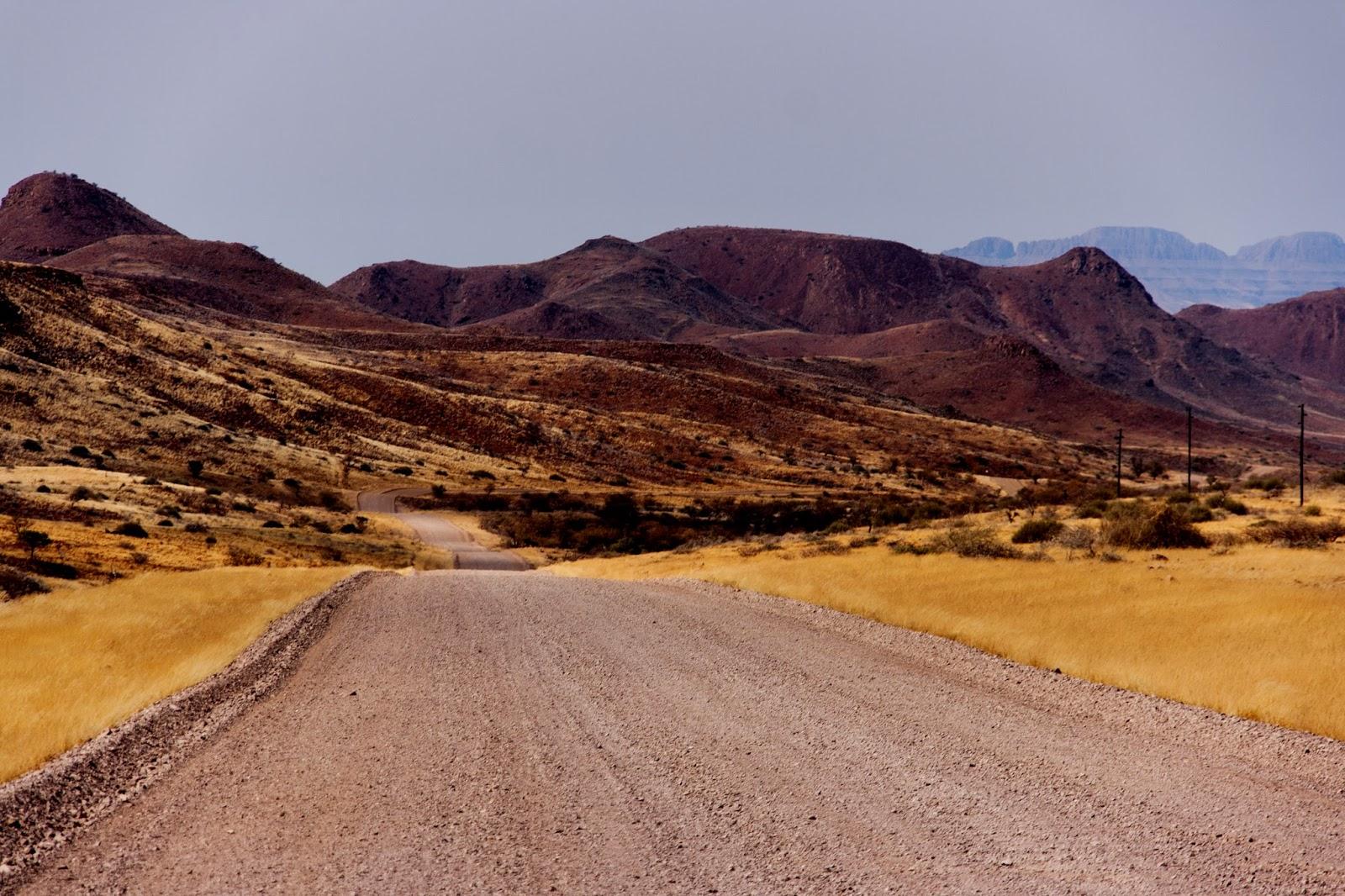road  damaraland namibia safari