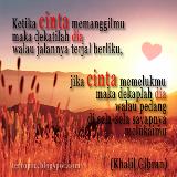 Kata Kata dan Puisi Cinta Khalil Gibran valentine 2013