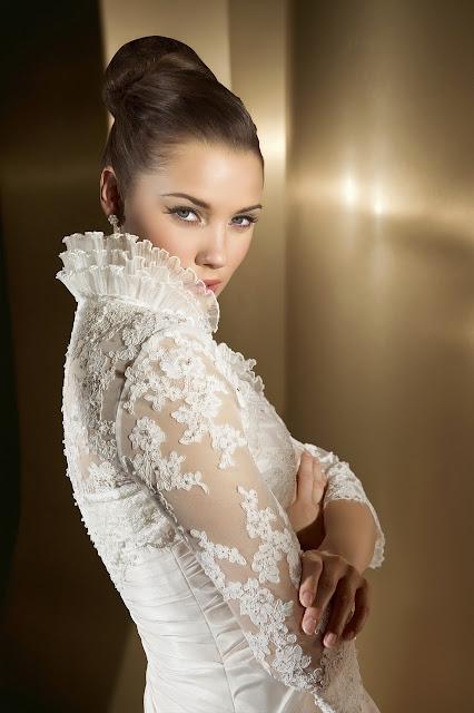 Vestidos de novia con mangas