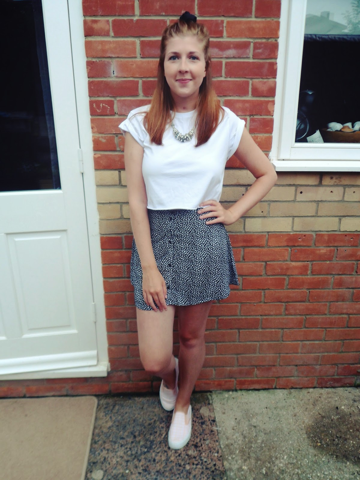 ASOS, croptop, fashion, fashionbloggers, fbloggers, HandM, ootd, outfitoftheday, plimsolls, primark, whatibought, whatimwearing, whatiwore, wiw