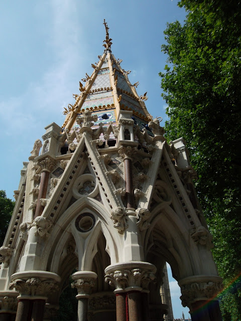 Buxton Memorial Fountain emancipation of slavery in British Empire in Victoria Tower Gardens