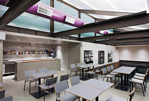 Emporio Baglioni Restaurant Unique Architecture Design