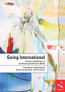 "Lehrbuch ""Going International"""