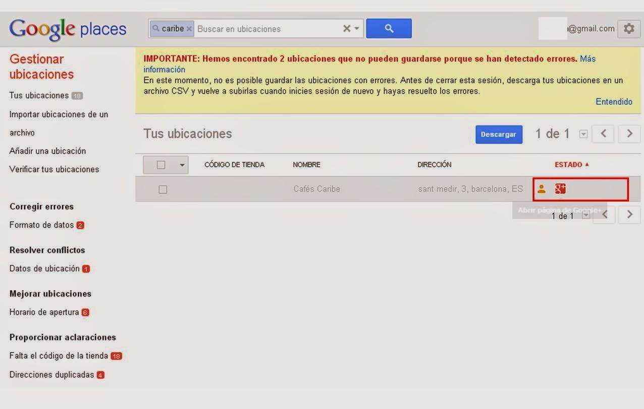 Geoinformación: Tipos de verificación de PIN en Google Places y Google Plus Local