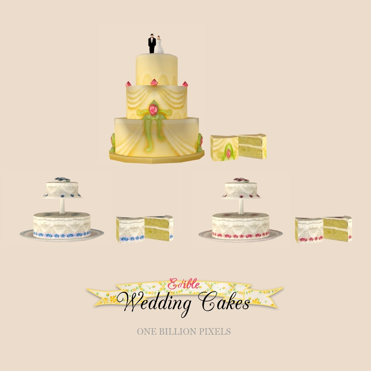Beautiful wedding cakes for young: Where to get wedding cake sims 4