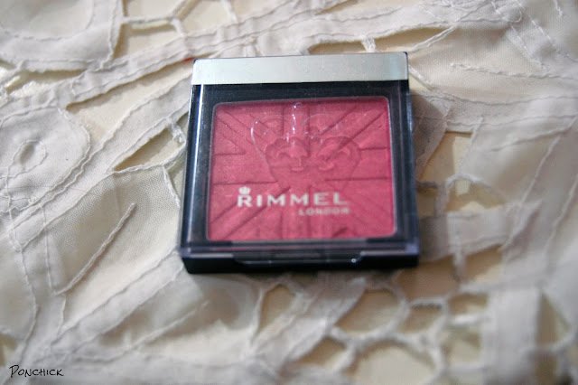 rimmel london pink blush