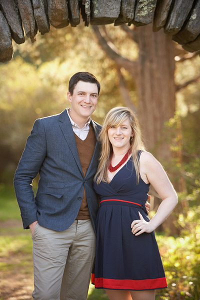 uri kinney azalea gardens engagement photos