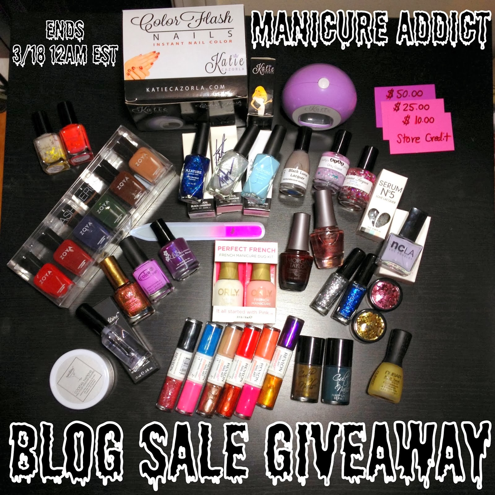Giveaway to Celebrate my Blog Sale
