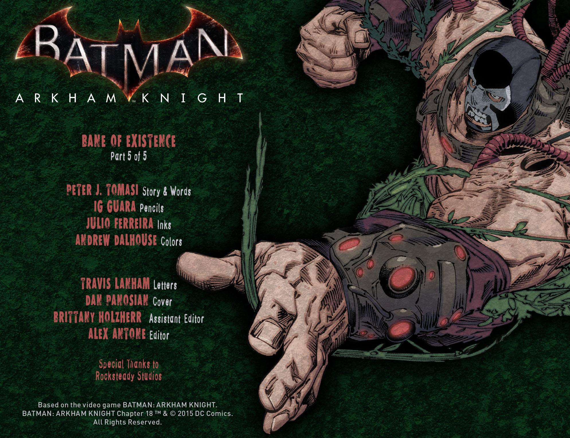 Batman: Arkham Knight [I] Issue #18 #20 - English 2