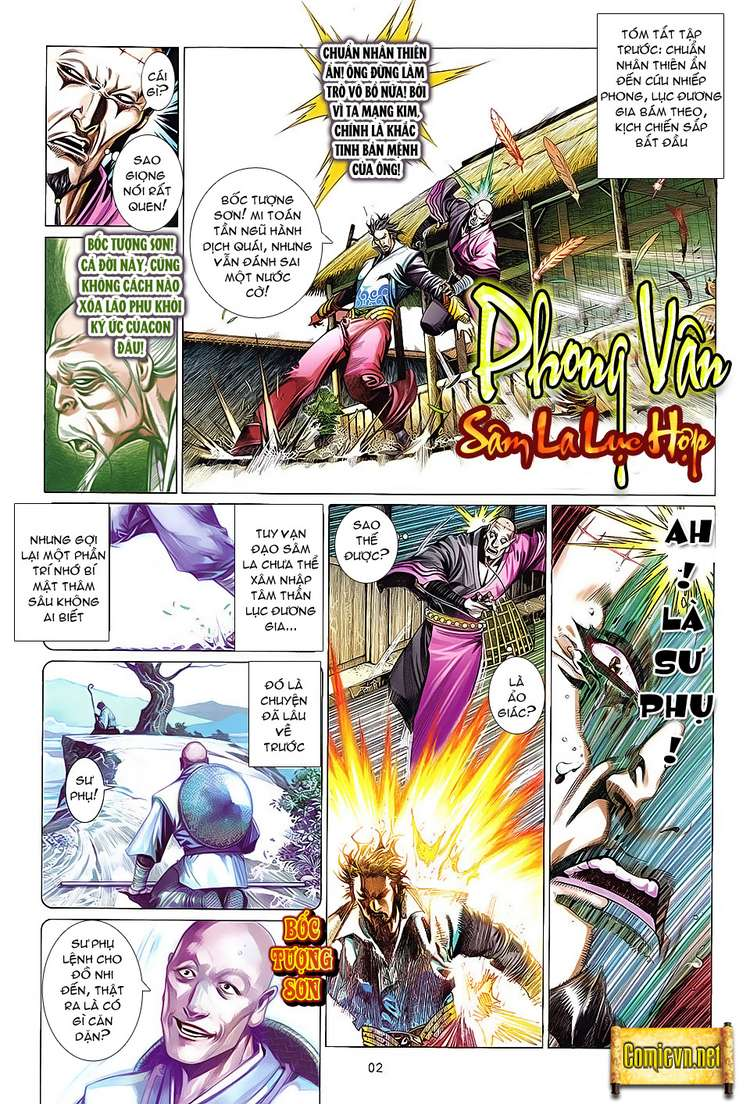 Phong Vân chap 621 Trang 2 - Mangak.info