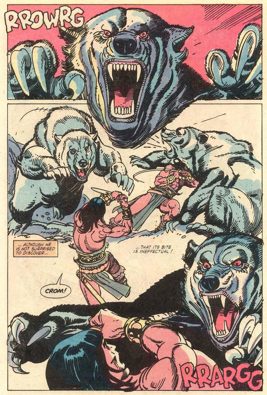 Conan the Barbarian (1970) Issue #127 #139 - English 5