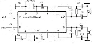 KA2210 amplifier schematics