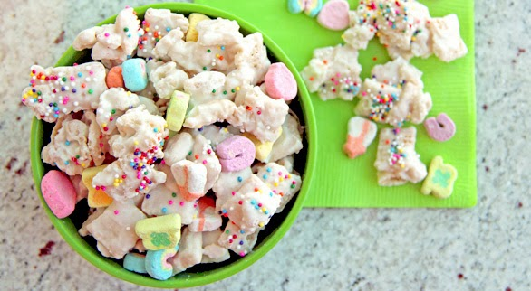 Lucky Charms Rainbow Chex Mix Recipe