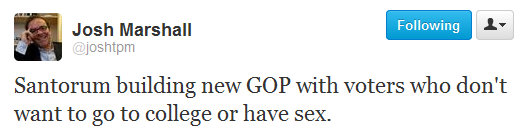 As if we need another reason to hate Rick Santorum...