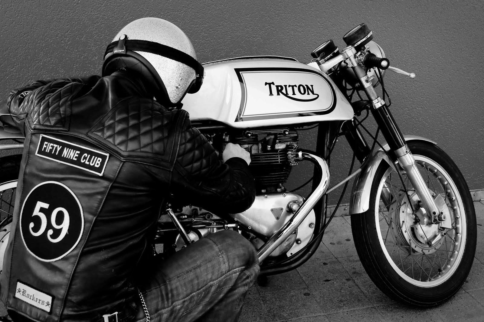 Cafe Racer Triton